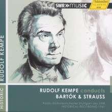 Rudolf Kempe dirigiert Bartok & Strauss, CD