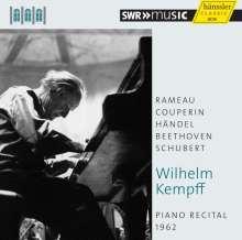Wilhelm Kempff - Piano Recital 1962 (Schwetzinger Festspiele), CD