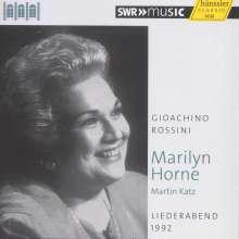 Marilyn Horne - Liederabend 1992 (Schwetzinger Festspiele), CD