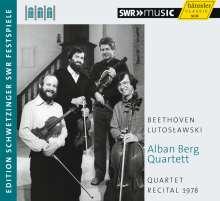 Alban Berg Quartett - Quartet Recital 1978, CD
