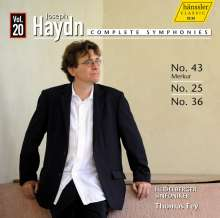 Joseph Haydn (1732-1809): Symphonien Nr.25,36,43, CD