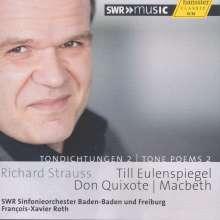 Richard Strauss (1864-1949): Tondichtungen Vol.2, CD