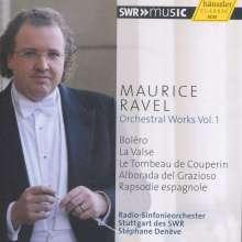 Maurice Ravel (1875-1937): Orchesterwerke Vol.1, CD
