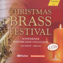 Schweriner Blechbläser-Collegium - Christmas Brass Festival, 2 CDs