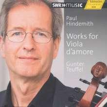 Paul Hindemith (1895-1963): Werke für Viola d'amore, CD
