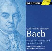 Carl Philipp Emanuel Bach (1714-1788): Werke für Violine & Hammerflügel, CD