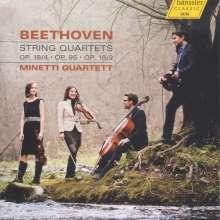 Ludwig van Beethoven (1770-1827): Streichquartette Nr.2, 4, 11, CD