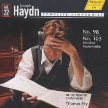 Joseph Haydn (1732-1809): Symphonien Nr.98 & 103, CD