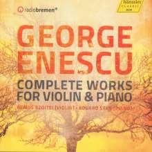 George Enescu (1881-1955): Sämtliche Werke für Violine & Klavier, 2 CDs