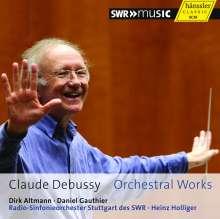 Claude Debussy (1862-1918): Orchesterwerke, CD