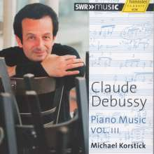 Claude Debussy (1862-1918): Klavierwerke Vol.3, CD