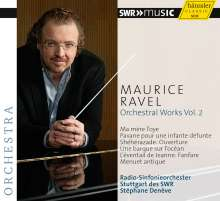 Maurice Ravel (1875-1937): Orchesterwerke Vol.2, CD