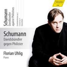 Robert Schumann (1810-1856): Klavierwerke Vol.8 (Hänssler) - Davidsbündler und Philister, CD