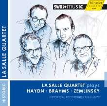 La Salle Quartet plays Haydn, Brahms, Zemlinsky, CD
