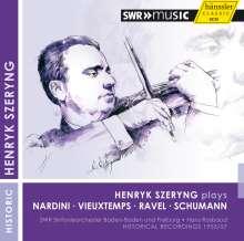 Henryk Szeryng spielt Violinkonzerte, CD