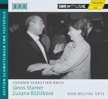 Johann Sebastian Bach (1685-1750): Gambensonaten BWV 1027 & 1029 (Schwetzinger Festspiele), CD