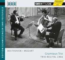 Grumiaux Trio - Trio Recital 1966 (Schwetzinger Festspiele), CD