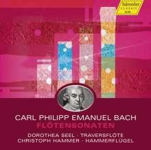 Carl Philipp Emanuel Bach (1714-1788): Flötensonaten Wq.83-87,123-134, 2 CDs