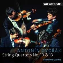 Antonin Dvorak (1841-1904): Streichquartette Nr.10 & 13, CD