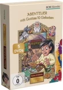 Abenteuer mit Gottes 10 Geboten  [5 DVDs], 5 DVDs
