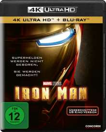 Iron Man (2008) (Ultra HD Blu-ray & Blu-ray), 1 Ultra HD Blu-ray und 1 Blu-ray Disc