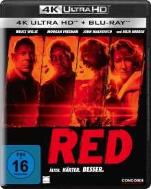 R.E.D. (Ultra HD Blu-ray & Blu-ray), 1 Ultra HD Blu-ray und 1 Blu-ray Disc