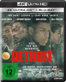Detroit (Ultra HD Blu-ray & Blu-ray), 2 Ultra HD Blu-rays