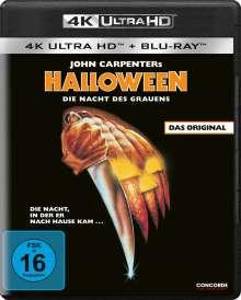 Halloween (1978) (Ultra HD Blu-ray & Blu-ray), 2 Ultra HD Blu-rays