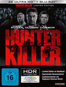 Hunter Killer (Ultra HD Blu-ray & Blu-ray im Steelbook), 2 Ultra HD Blu-rays