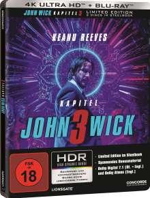 John Wick: Kapitel 3 (Ultra HD Blu-ray & Blu-ray im Steelbook), 2 Ultra HD Blu-rays