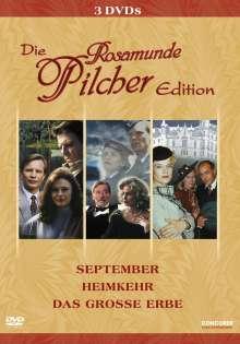 Rosamunde Pilcher Edition, 3 DVDs