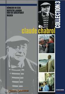 Claude Chabrol Collection III, 3 DVDs