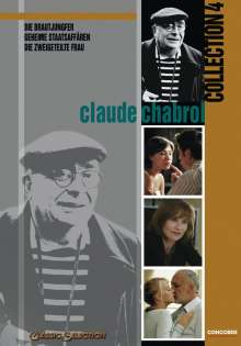 Claude Chabrol Collection IV, 3 DVDs