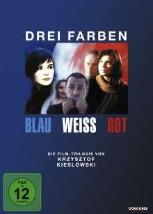 Drei Farben: Blau/Weiß/Rot (Die Trilogie), 3 DVDs