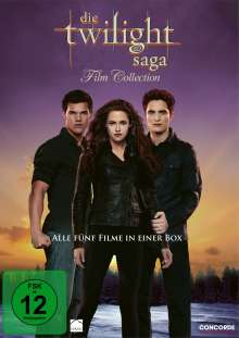 Die Twilight Saga Film Collection, 5 DVDs