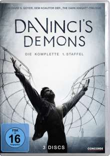 Da Vinci's Demons Season 1, 3 DVDs
