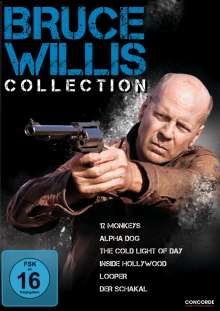 Bruce Willis Collection, 6 DVDs