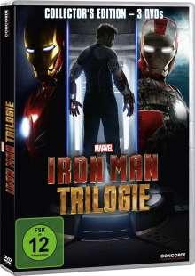 Iron Man Trilogie, 3 DVDs
