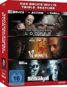 Das Bruce Willis Triple Feature, 3 DVDs