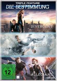 Die Bestimmung Triple Feature, 3 DVDs