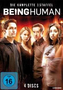 Being Human Season 3, 4 DVDs