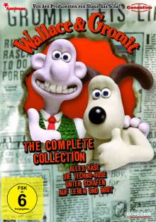 Wallace und Gromit: The Complete Collection, DVD