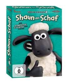 Shaun das Schaf Staffel 3, 3 DVDs