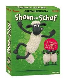 Shaun das Schaf Staffel 4, 4 DVDs