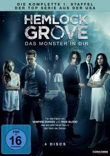 Hemlock Grove Season 1, 4 DVDs