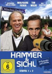 Hammer & Sichl Staffel 1+2, 3 DVDs