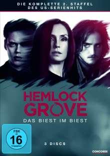 Hemlock Grove Season 2, 3 DVDs