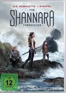 The Shannara Chronicles Staffel 1, 4 DVDs