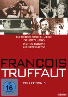 Francois Truffaut Collection 3, 4 DVDs