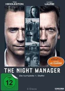 The Night Manager Season 1, 3 DVDs